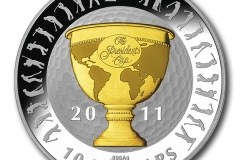 The Presidents Cup Ten Dollar Silver Proof