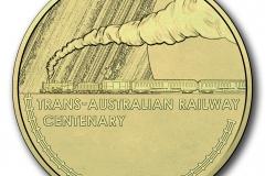 Trans Australian Railway One Dollar Cu/Ni