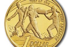 Year of the Surf Lifesaver $1 Proof coin