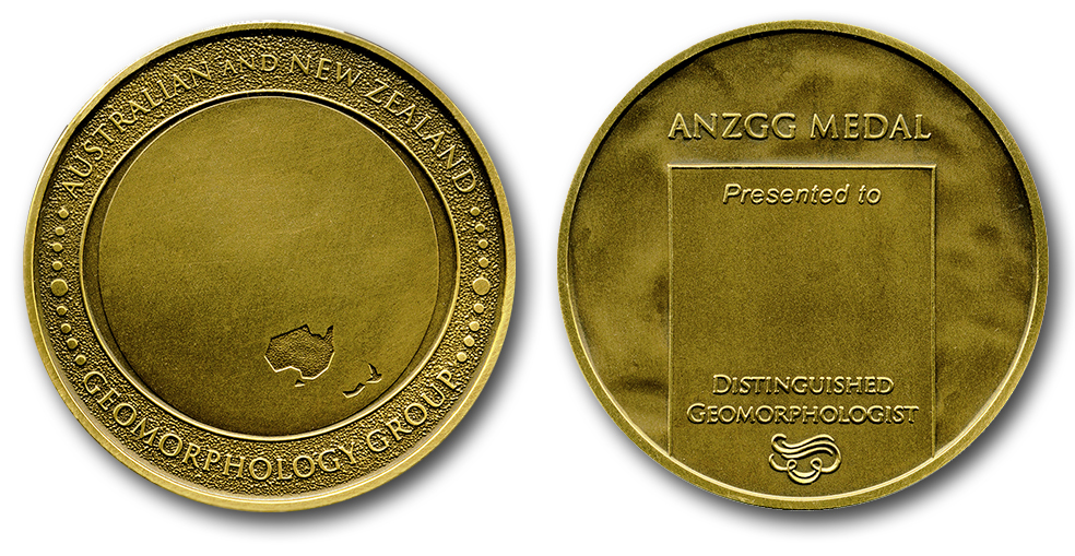 ANZGG medal obv and rev