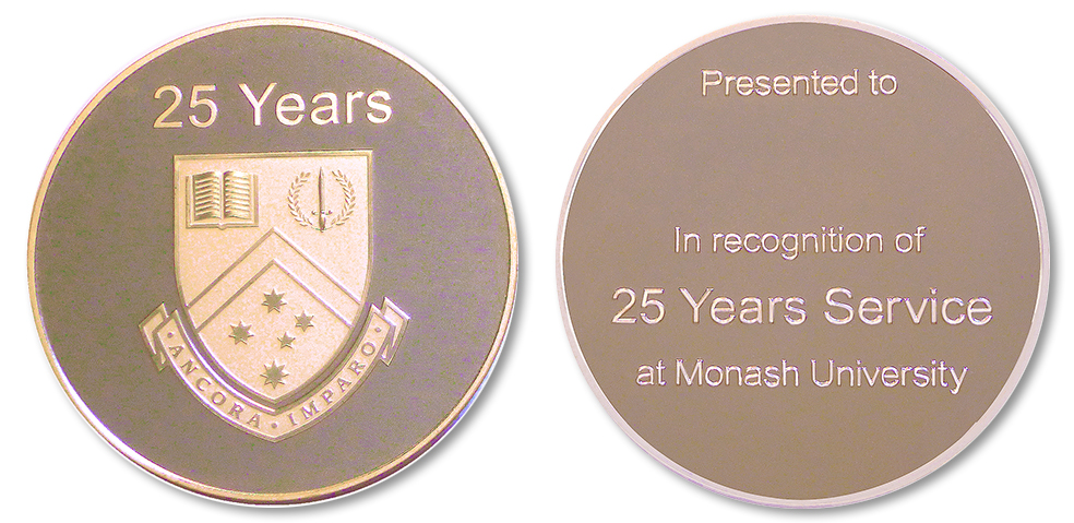 Monash University 30 Year Service Medal