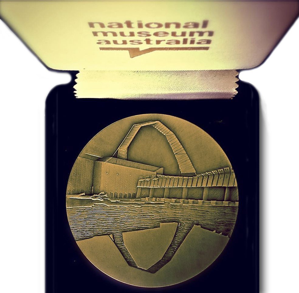 NMA medal in case