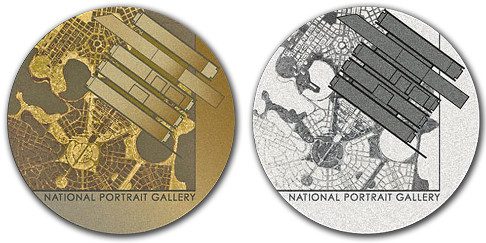 National-Portrait-Gallery-Medal design