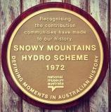 National Museum Australia plaque