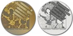 National-Portrait-Gallery-Medal design