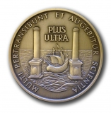 Thoracic Society Research medal obv