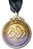 Thoracic Society medal obv