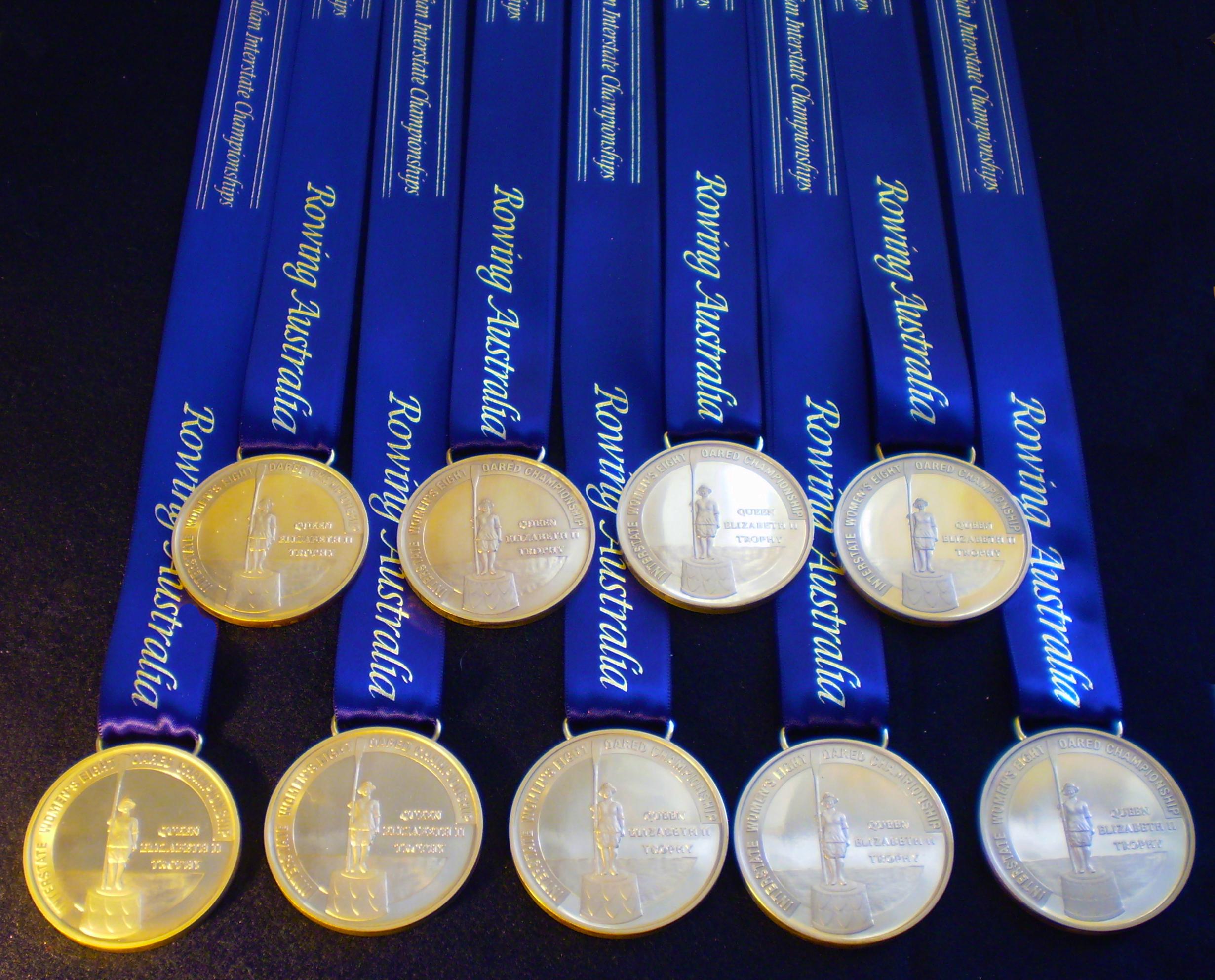 Rowing Australia medals