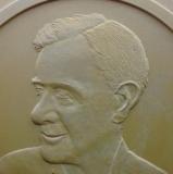 Sidney Nolan in plaster detail